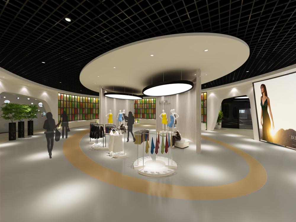混搭风格展厅_南平产业展厅装修效果图-x团装修网