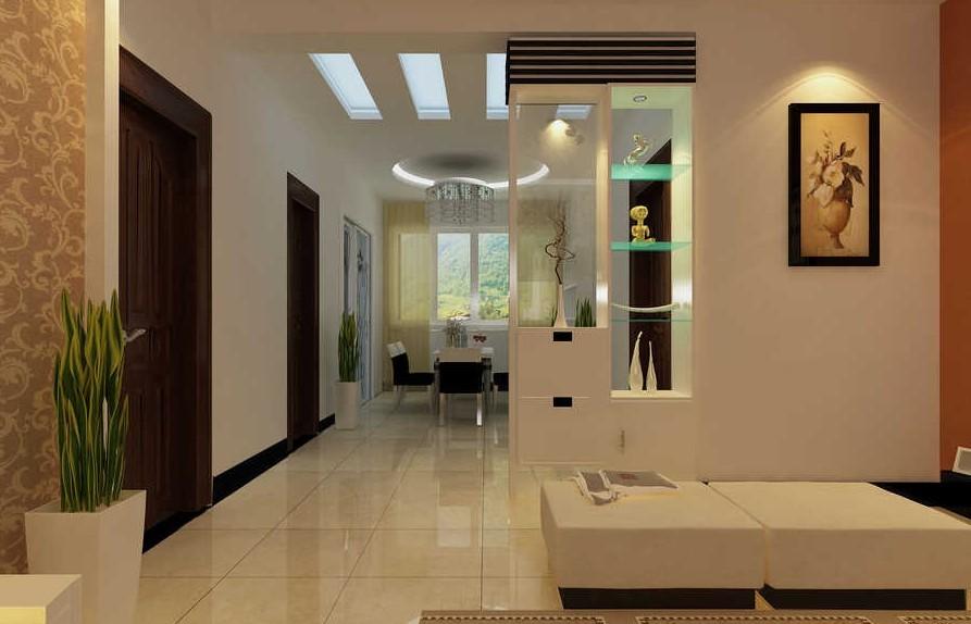三室两厅现代风格客厅圆形吊顶