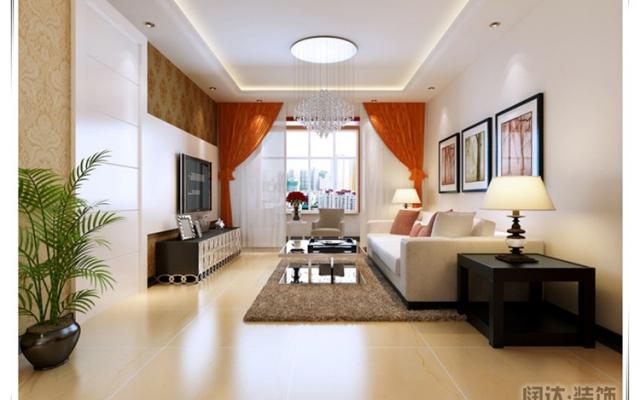 五华区名匠誉峰88平方米现代风格B10户型5.3万元