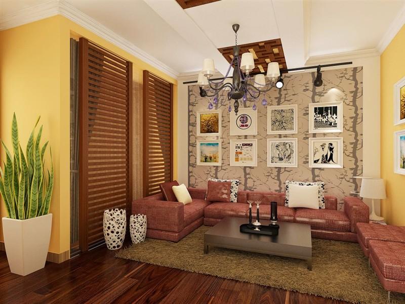 两居室雅致主义客厅