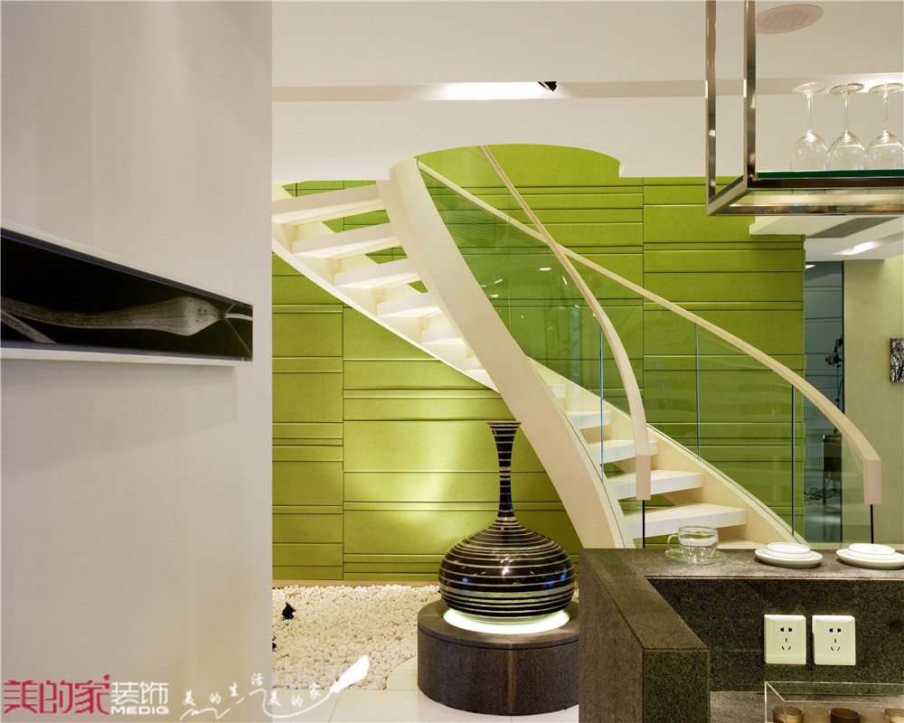【美的家装饰】现代(绿色,米色调)