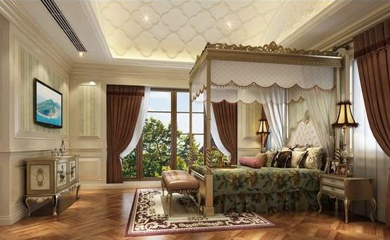 独栋别墅欧式风格卧室