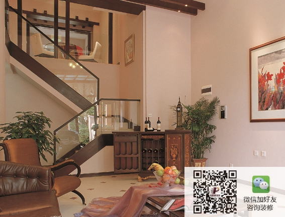 北京远洋天著280平欧式风格别墅装修设计案例欣赏
