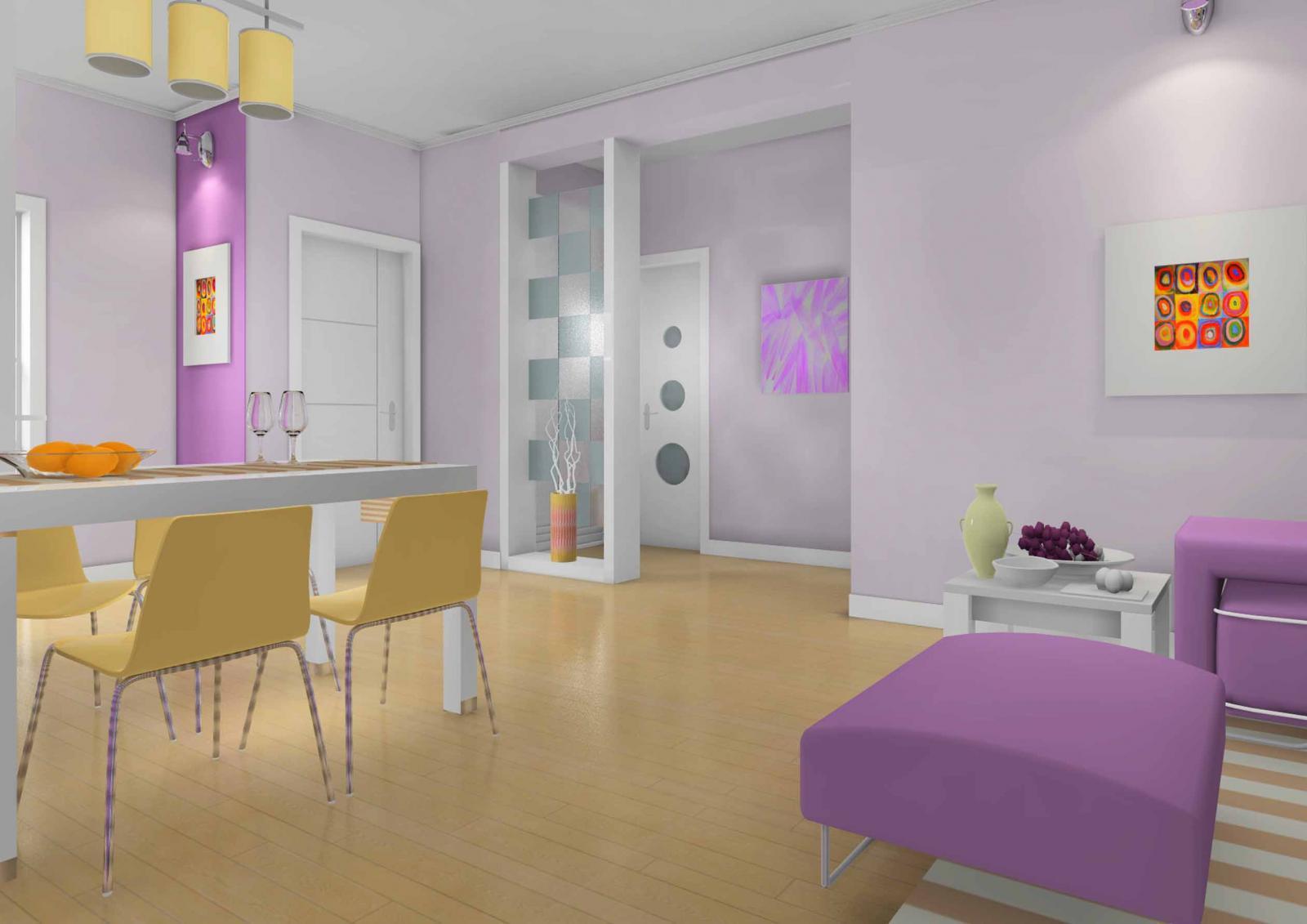 一室一厅北欧风格
