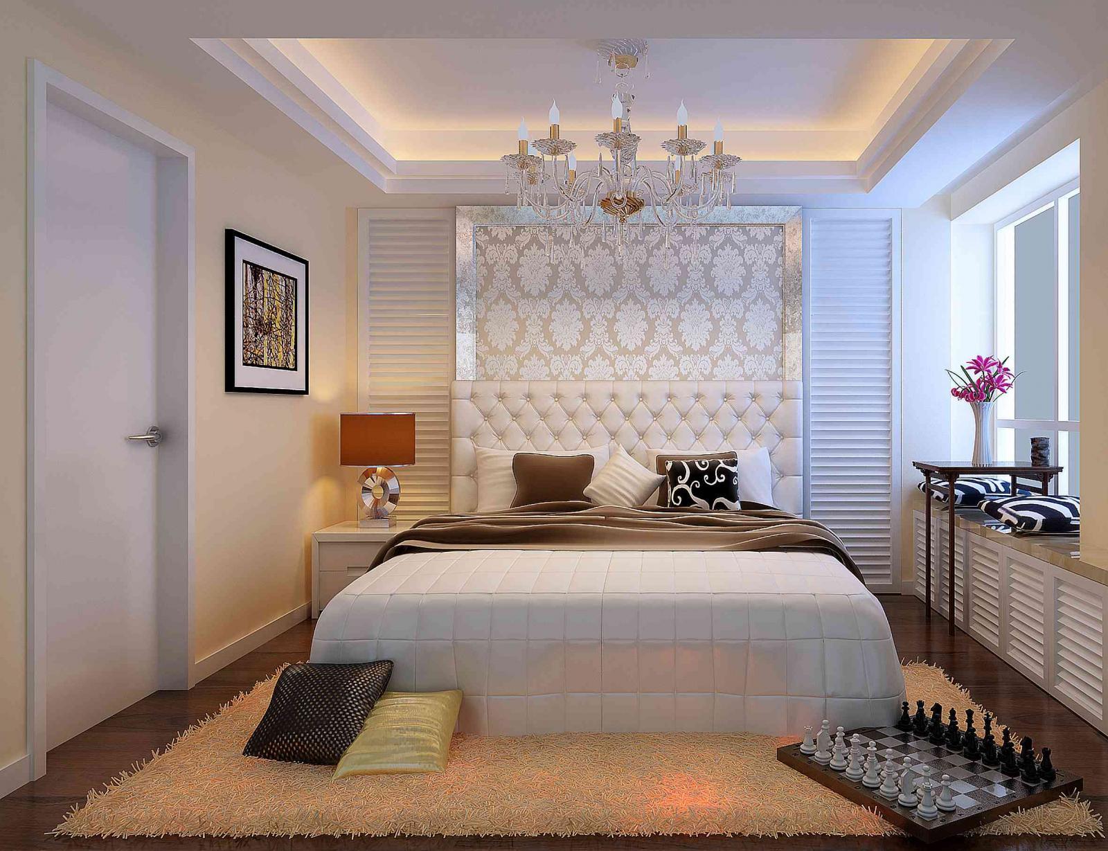 两居室简约风格客厅_润泽公馆装修效果图-x团装修网