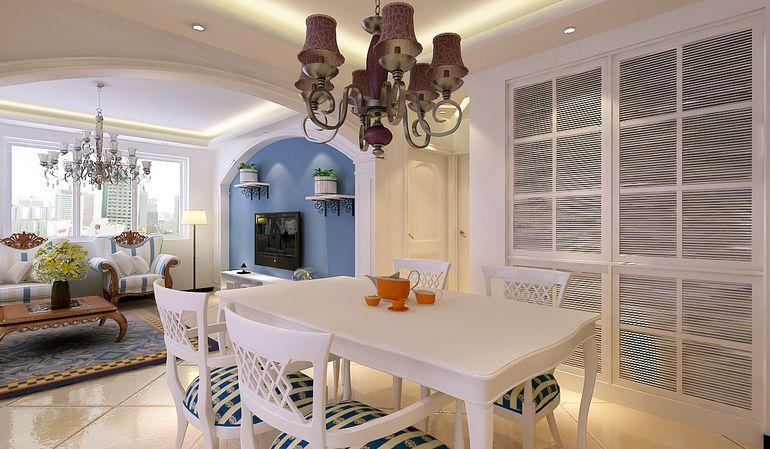 中海国际社区-二居室-98平米-装修设计