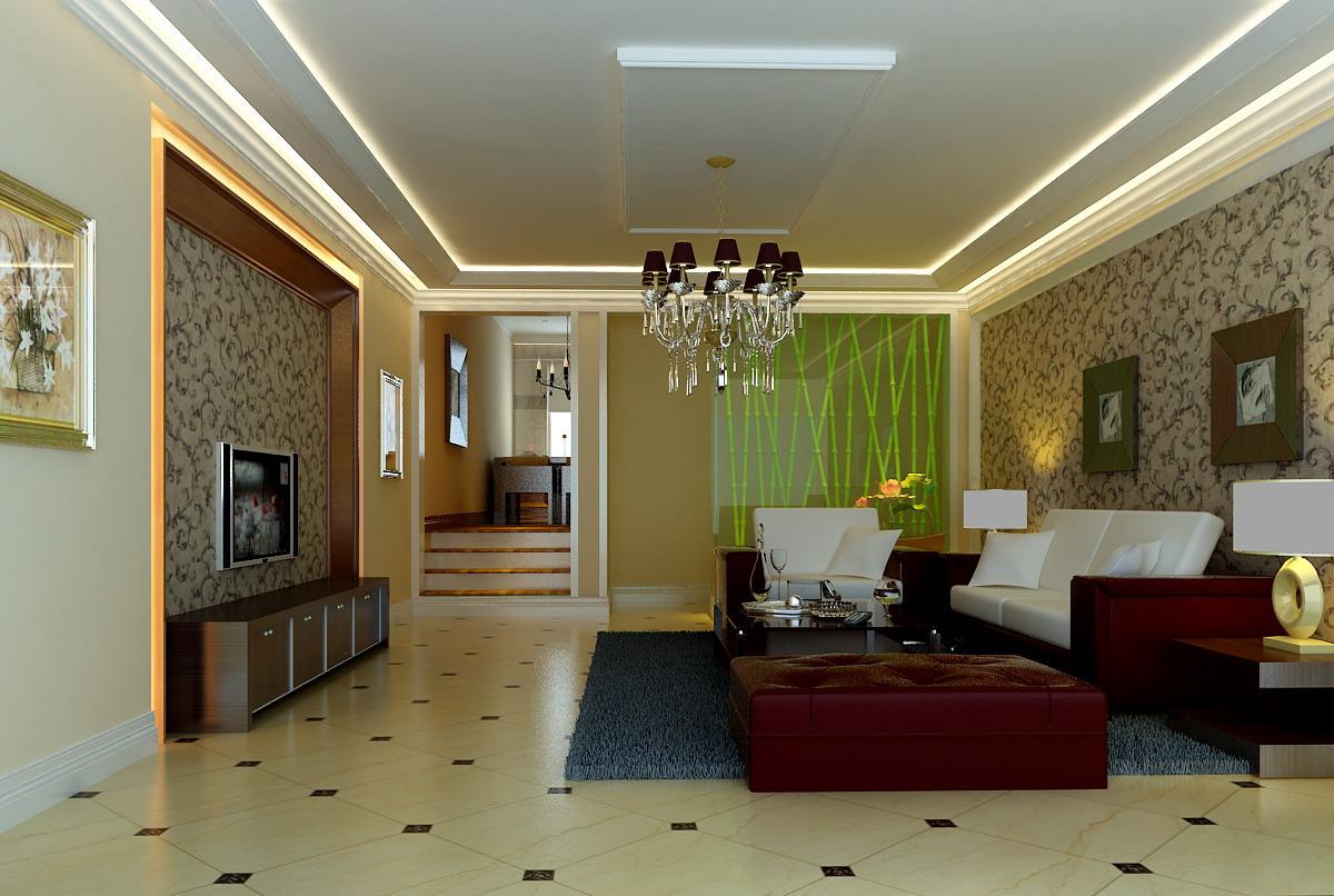 复式楼简欧风格客厅