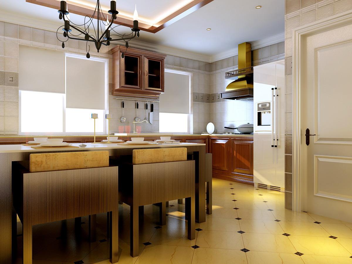 复式楼简欧风格厨房