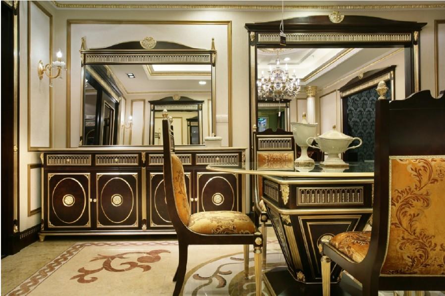 大平层欧式风格装修设计——上海龙发装饰