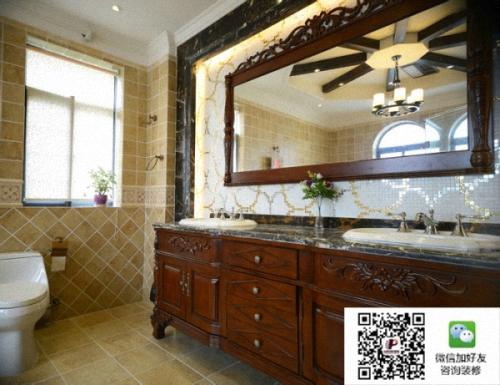 北京中信府•世家162平三居室简欧设计风格美轮美幻