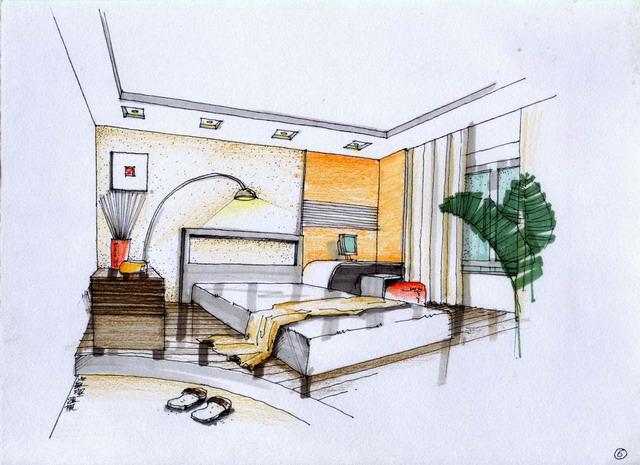 家装手绘图