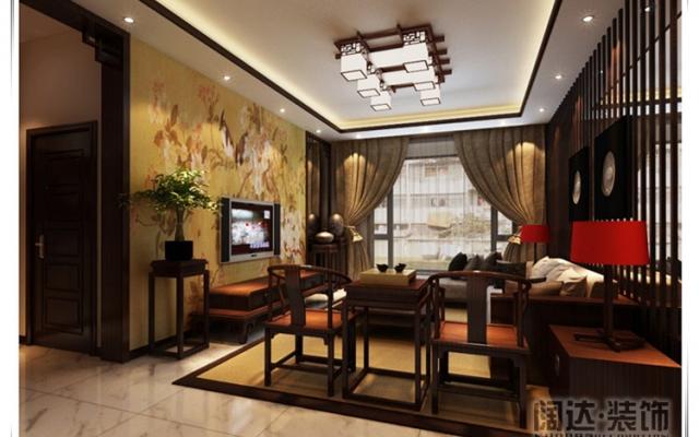 五华区西府景苑125平方米现代中式D1户型7.8万元