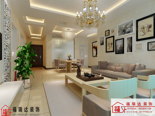 两室两厅简欧风格