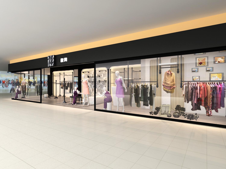 左右空间品牌终端店面形象设计