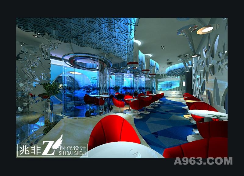 水尚概念餐厅(2)-餐饮空间-王跃飞设计作品