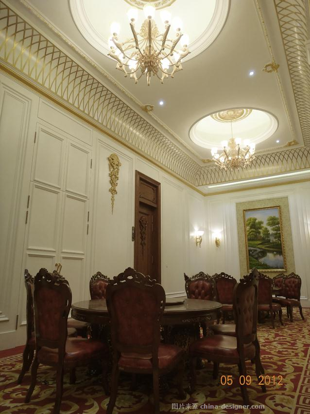 纯白欧式餐饮-餐饮空间-王跃飞设计作品