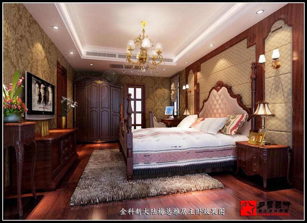 两室两厅欧式风格_长泰国际社区装修效果图-x团装修