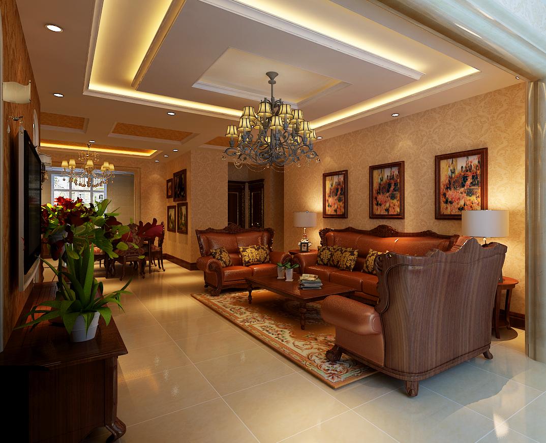 三室一厅欧式风格
