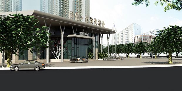 国信*宜和售楼处设计