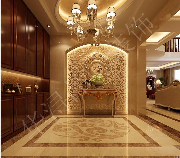 别墅欧式风格_华浔品味装饰--东海滨城装修效果图-x