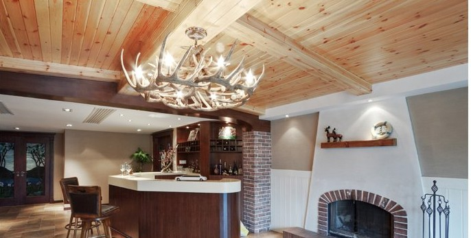 复式楼欧式风格客厅_欧式古典风格装修效果图-x团
