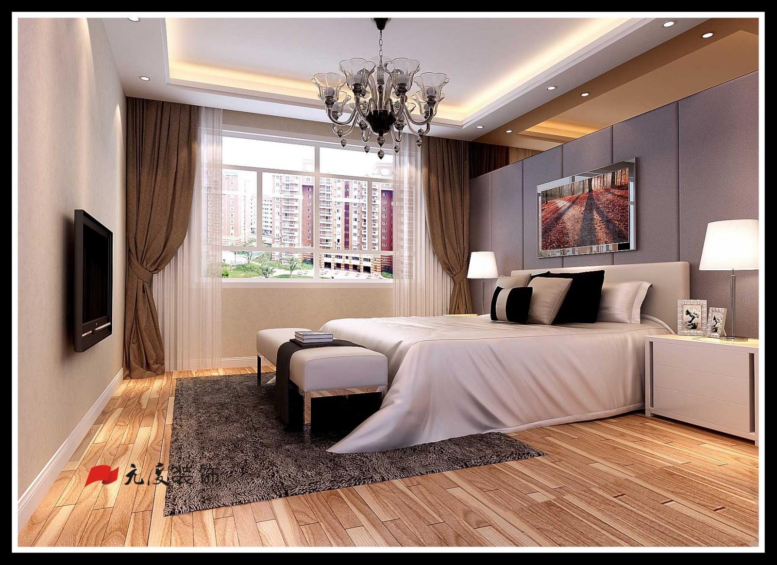 跃层欧式风格卧室_合肥元度装饰-国耀一方城装修效果