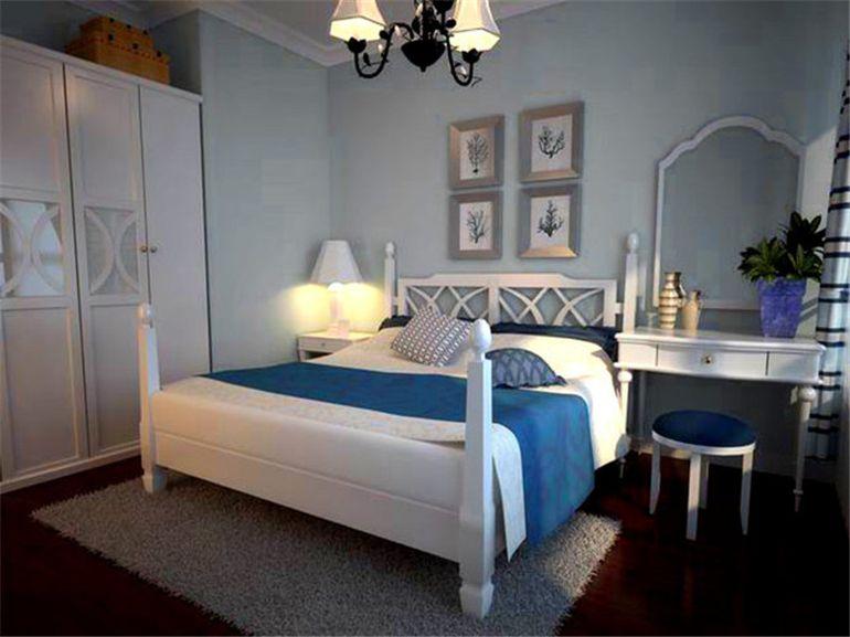 两室两厅地中海风格卧室