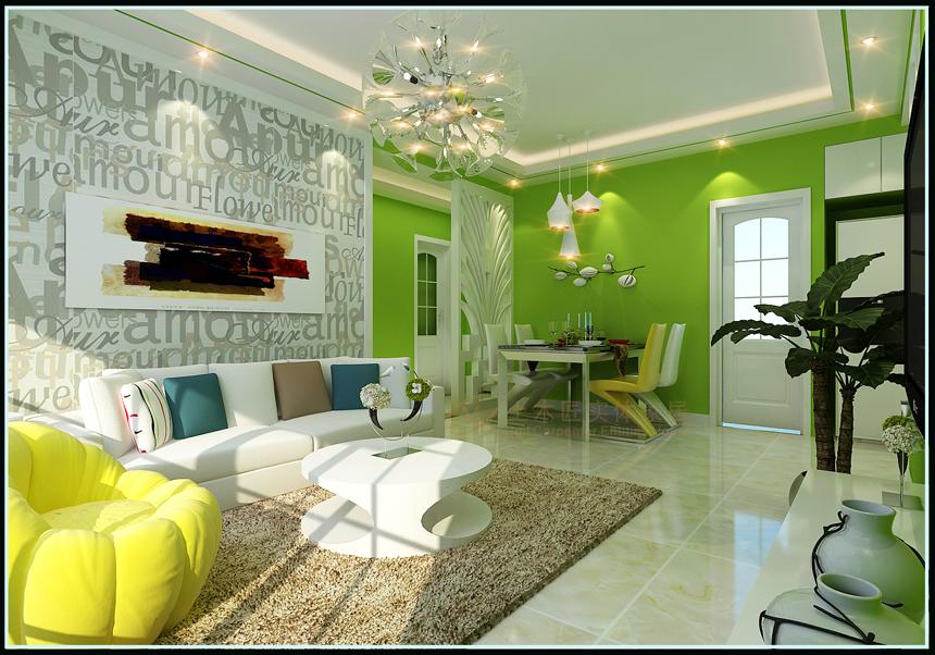 两居室简约风格交换空间