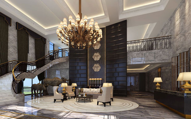 多伦多国际花园售楼部设计