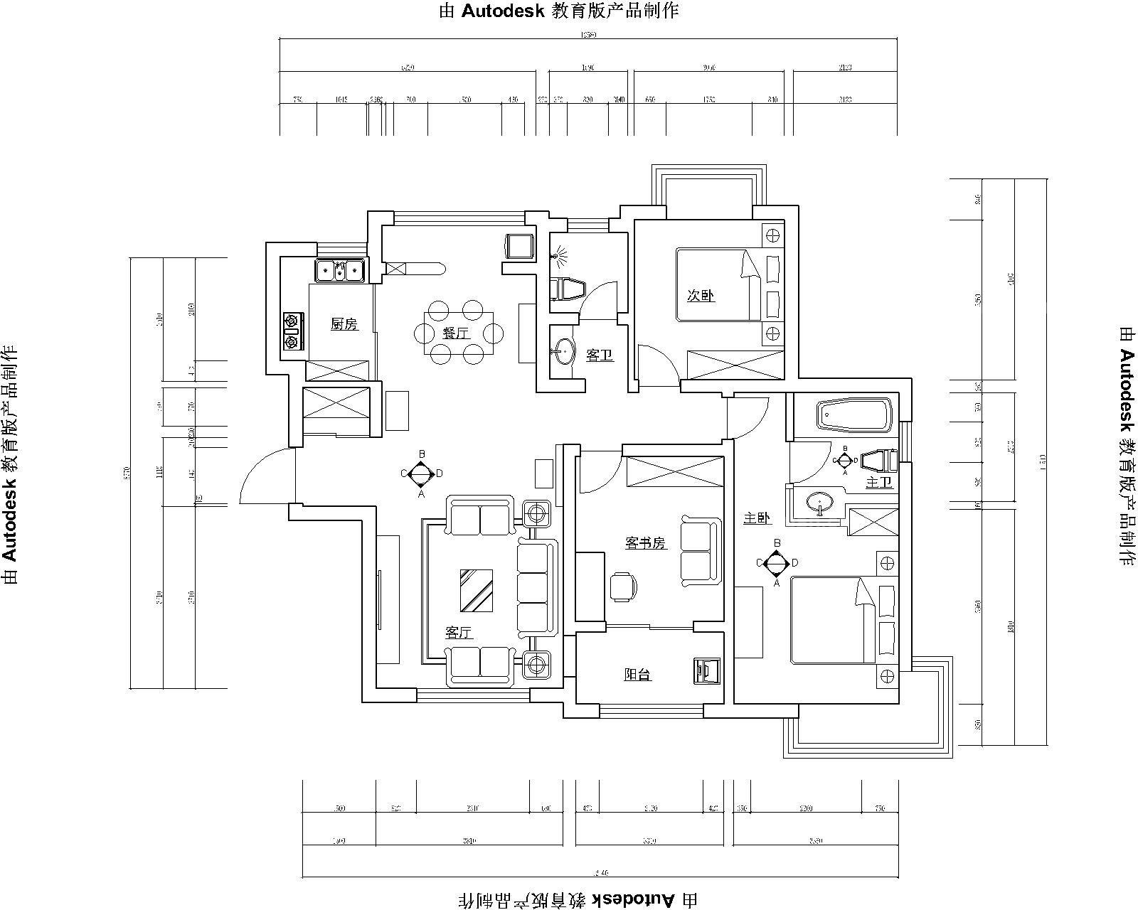 名士豪庭2期24#140平米