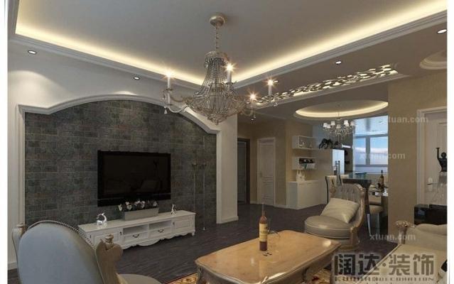 西山区红星国际89平方米现代风格C2户型4.8万元