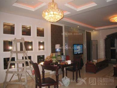 两室两厅混搭风格客厅