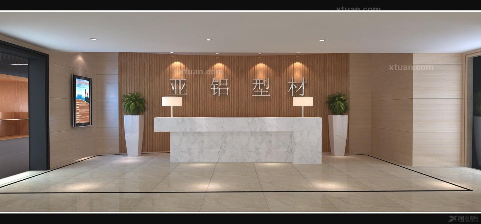 混搭风格_宁波海曙金都国际办公楼装修效果图-x团装修