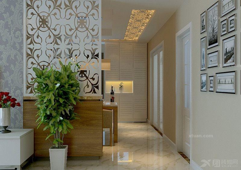 世华泊郡1#B2户型-现代风格设计作品