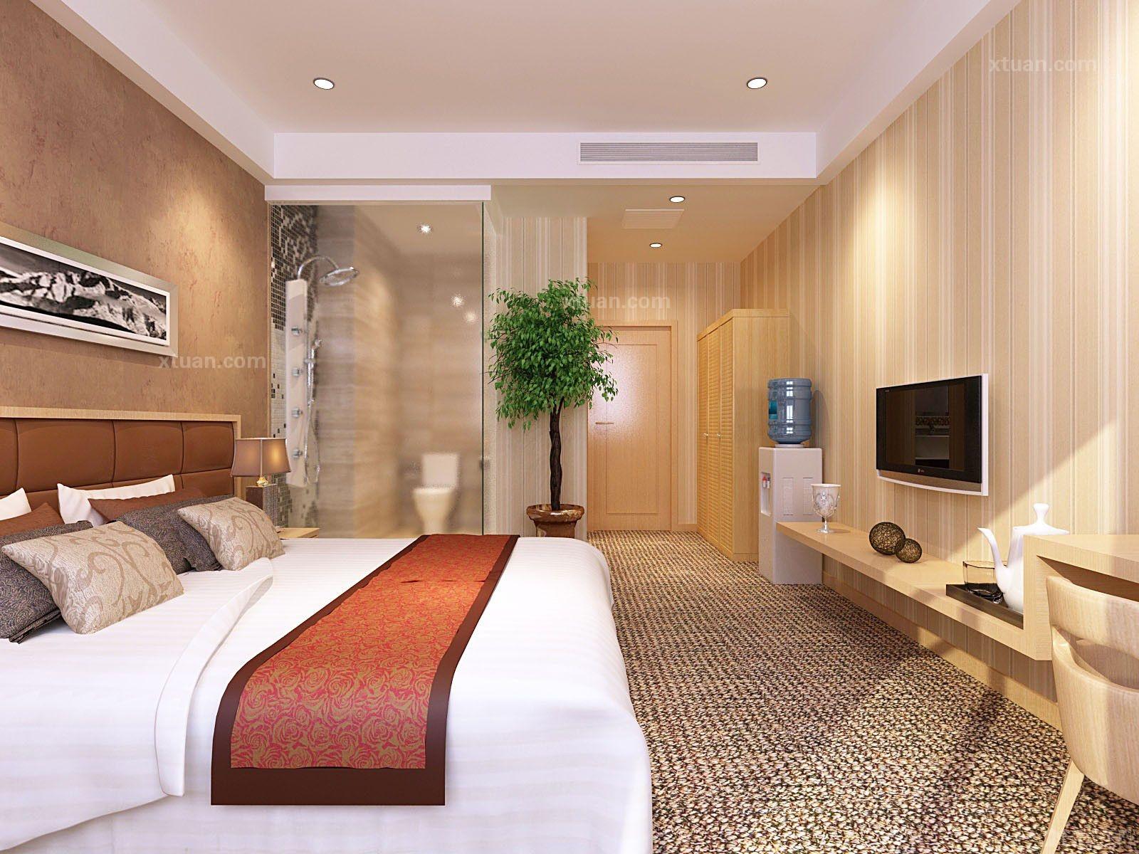 某宾馆客房设计装修效果图