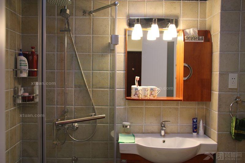 两室两厅现代简约卫生间