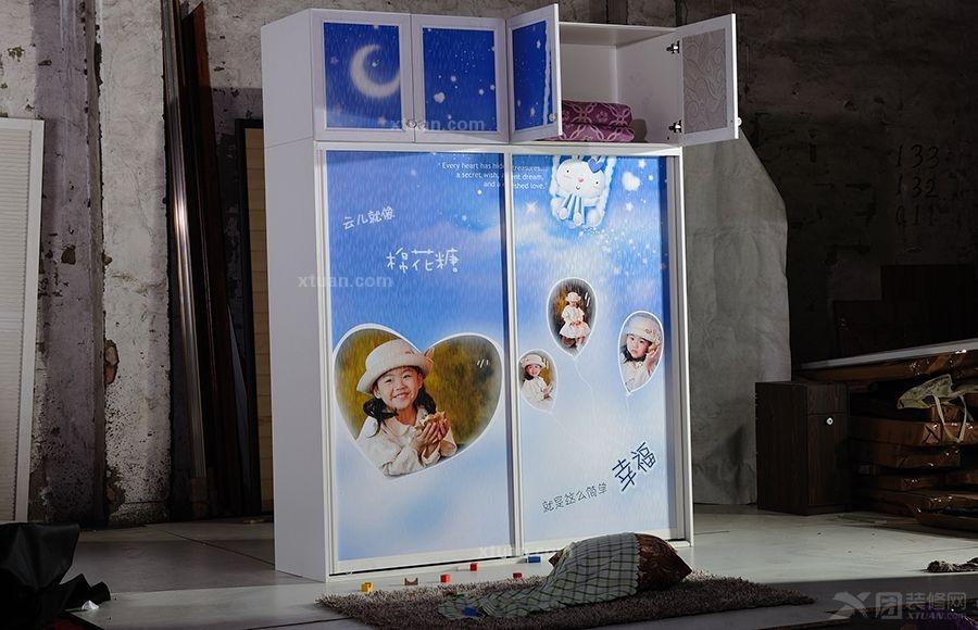 心逸品-高清儿童移门衣柜
