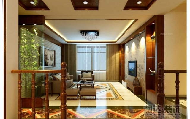 西山区碧鸡名城125平方米新中式风格E5户型6.9万元