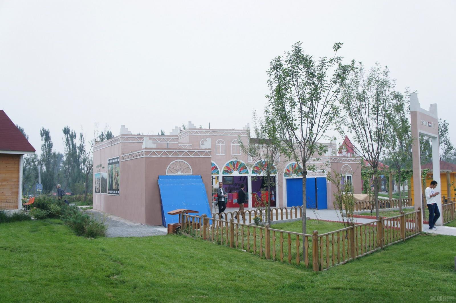 别墅欧式风格花园_国际园林博览会(也门园)装修效果图