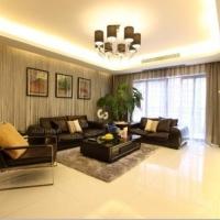 上海仁恒滨江园大四居现代风格设计