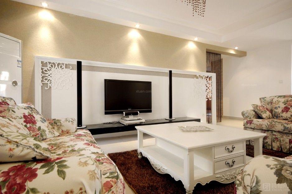 国际华城四居室户型现代风格设计!
