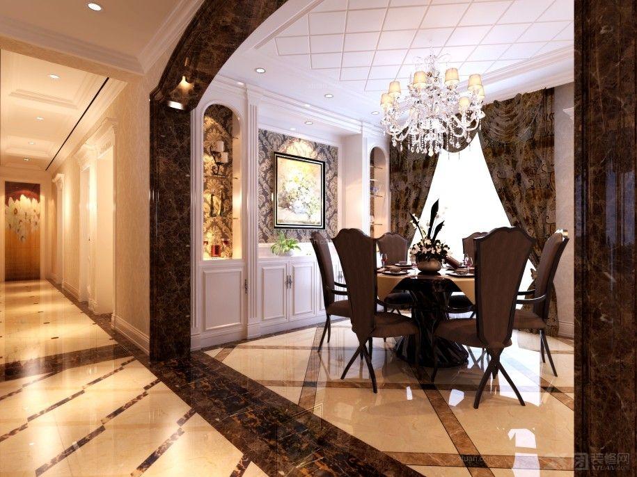 三室两厅欧式风格客厅_普天小区装修效果图-x团装修网图片