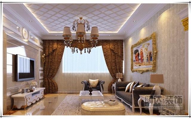 官渡区香樟俊园121平方米欧式风格A户型6.6万元