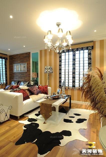 单身公寓现代风格