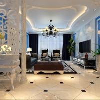 30万打造华侨城300平米新古典装修