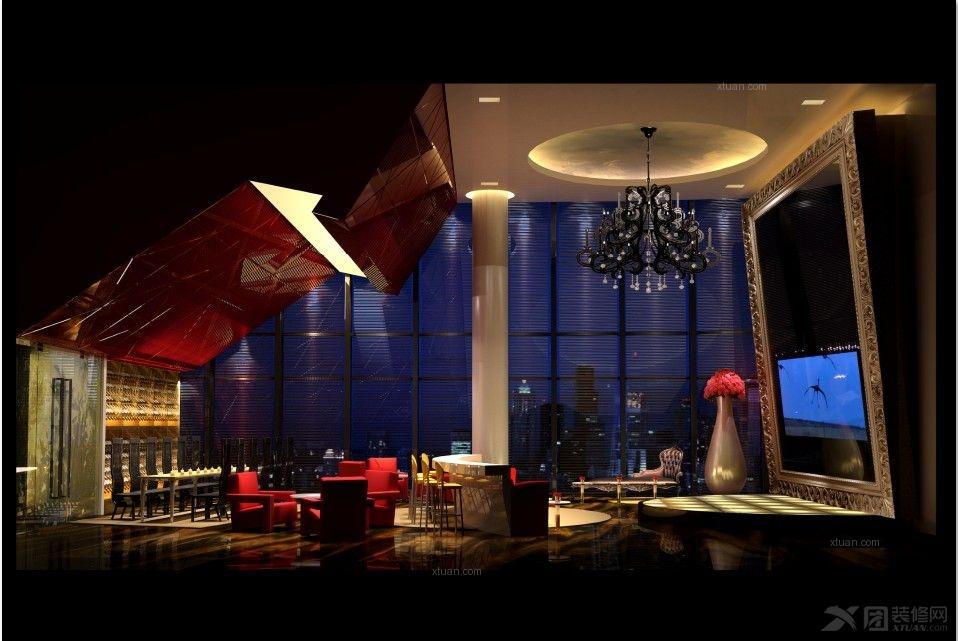 上海某顶级会所装修设计方案展示!