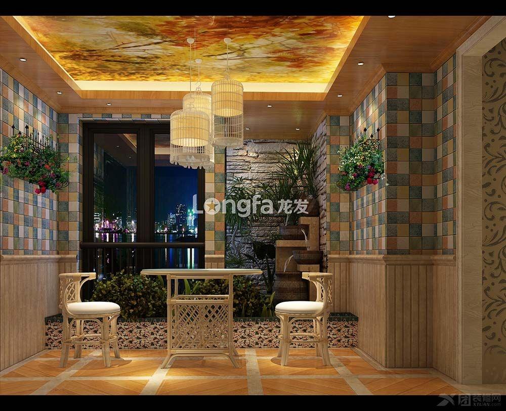 三室两厅简欧风格_葛洲坝广场装修效果图图片