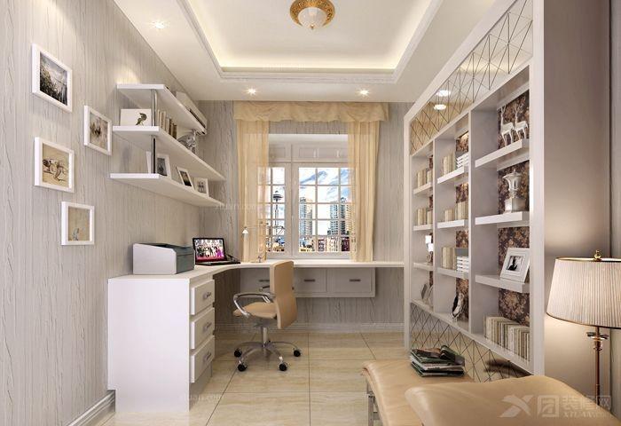 两居室欧式风格客厅_金科公园王府大户人家装修效果图片
