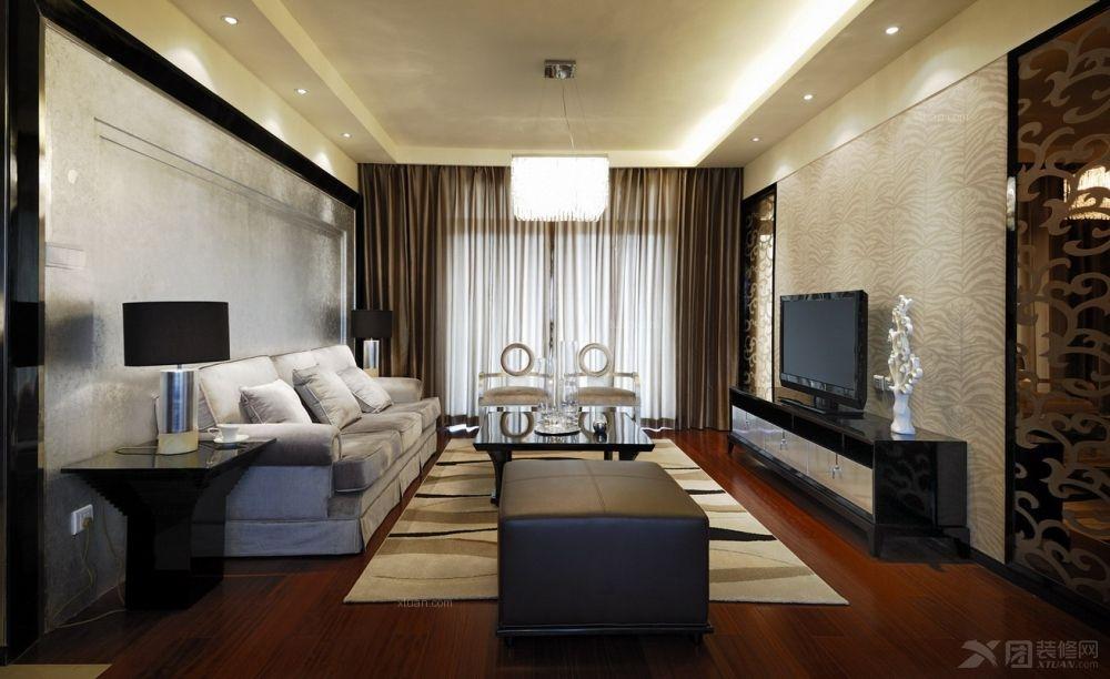 两室一厅简欧风格客厅