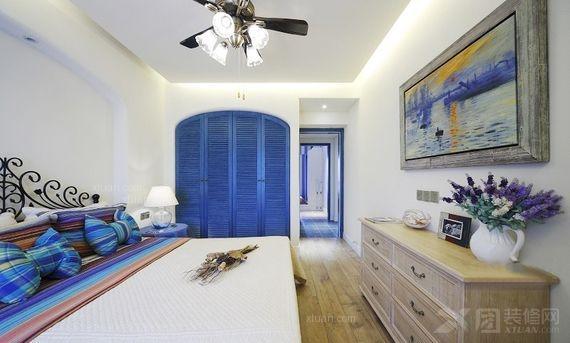 两居室地中海风格客厅